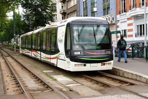 Le tramway de Transpole.