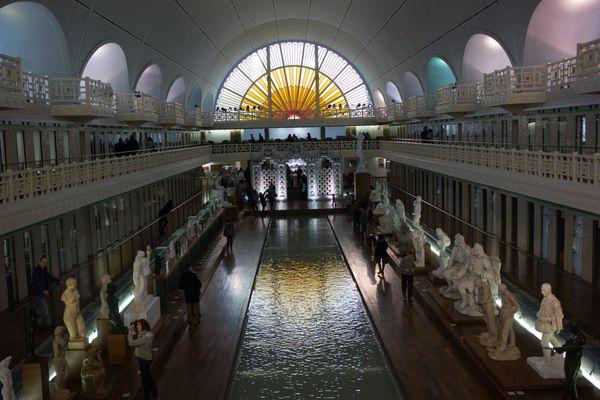 Le musée de la Piscine, ouvert en 2001, à Roubaix.