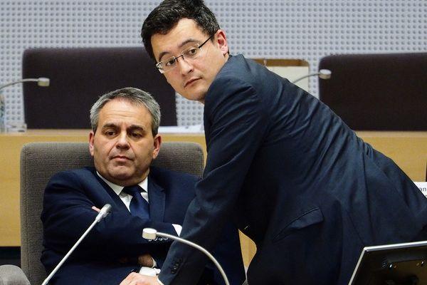 Proche de Xavier Bertrand, Gérald Darmanin prend ses distances avec Nicolas Sarkozy.