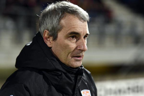 Denis Zanko, l'entraîneur du Stade Lavallois.