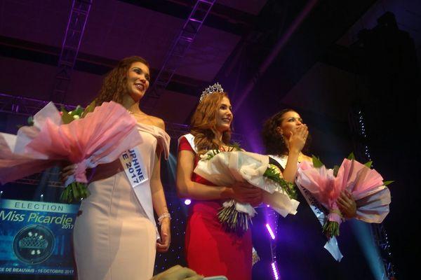 Paoulina Prylutska entourée de ses dauphines Océane Soulé et Assia Kerim