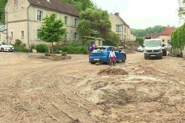 La commune de Puiseux-en-Retz dans l'Aisne a été reconnue en état de catastrophe naturelle le 9 juillet après la coulée de boue subie le 3 juin 2021.