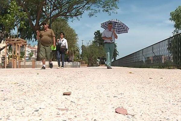 A Perpignan, le plan d'aménagement des espaces verts est loin de faire l'unanimité.