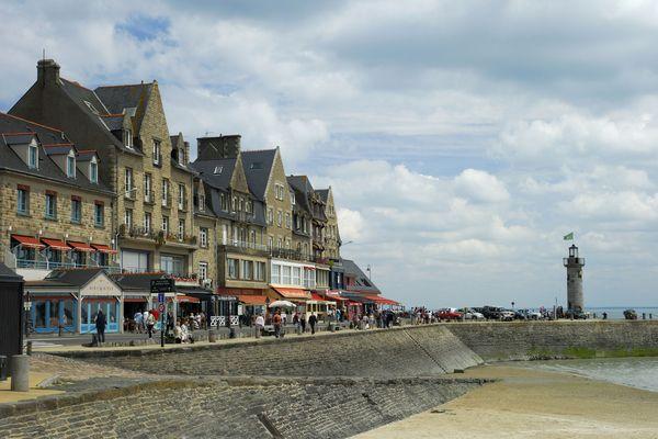 A Cancale, comme dans la plupart des restaurants de la Côte d'Emeraude, il n'y a pas de terrasse