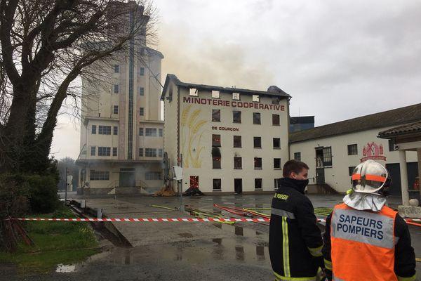 D'importants moyens ont été déployés par les pompiers de Charente-Maritime.