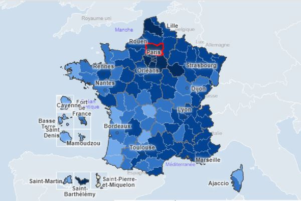 La Corse, et plus particulièrement la Haute-Corse, est loin des plus hauts nationaux en matière de taux d'incidence.