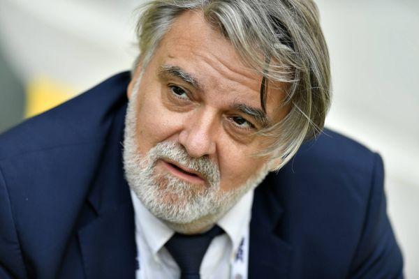Le président du MHSC Laurent Nicollin a réussi à convaincre une majorité de joueurs - archives.
