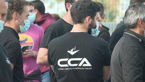 Des employés de Corse Composites aéronautiques dénoncent leurs conditions de travail