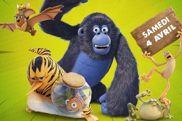 Les personnages de la série les As de la jungle.