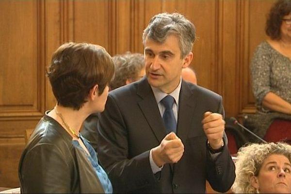 André Accary (UMP) a été élu président du conseil départemental de Saône-et-Loire jeudi 2 avril 2015.
