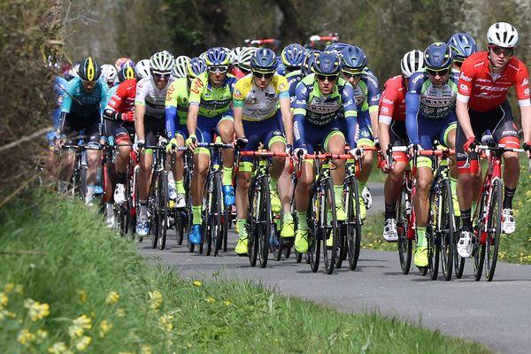 Sur la route du Tour Cycliste Sarthe - Pays de la Loire en 2018