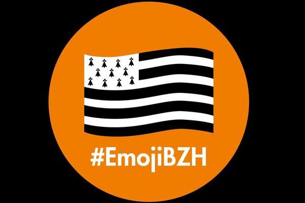 Pour un emoji représentant le drapeau breton
