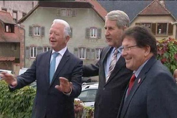 Charles Buttner, Philippe Richert et Guy-Dominique Kennel veulent relancer le Conseil unique d'Alsace