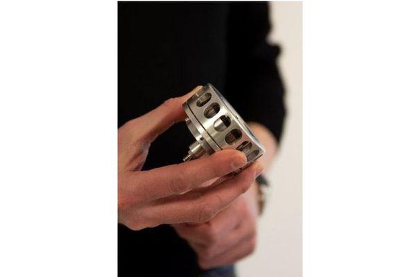 Un élément prototype de micropropulseur.