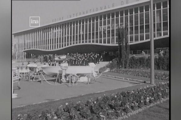 Le Palais des Expositions, un bâtiment imaginé et construit par le maire Jean Médecin dans les années 60