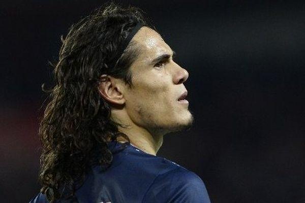 L'attaquant uruguayen du PSG, Edinson Cavani, recruté en juillet 2013 pour 63 millions d'euros.