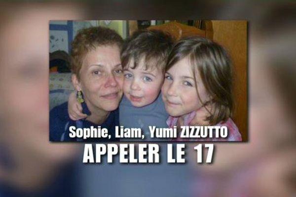 Sophie Zizzutto a disparu depuis le jeudi 28 janvier 2016 en emmenant avec elle ses deux enfants Yumi et Liam.