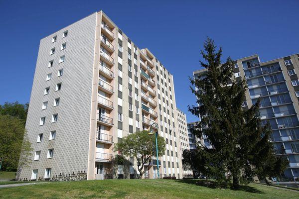 Le quartier du Vert-Bois à Saint-Dizier, en Haute-Marne.
