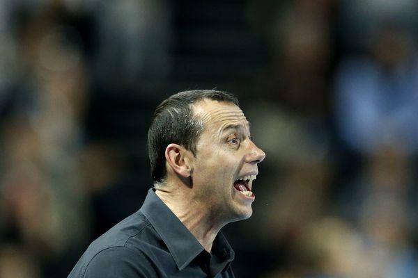 Patrice Canayer, l'entraîneur du MHB - archives