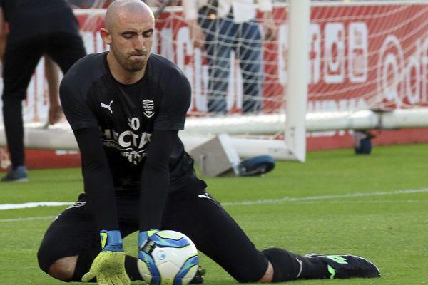 Paul Bernardoni, gardien du Nîmes Olympique pendant deux ans