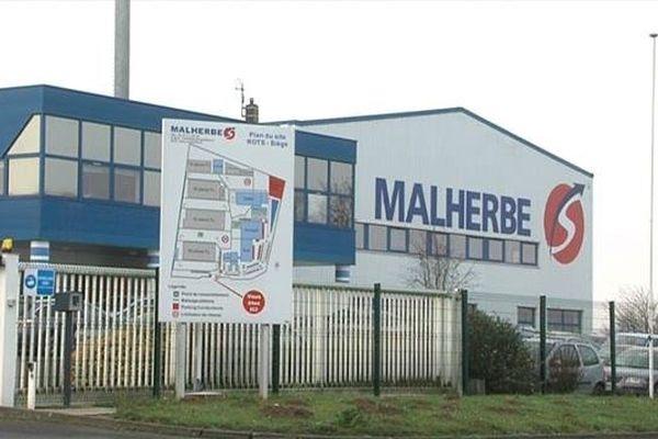 Le siège des transports Malherbe à Rots