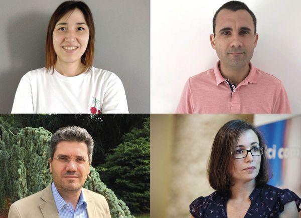 Aline, Rachel, Antoine ou   font partie de l'équipe qui a créé ''Mangez Chez Vous!''