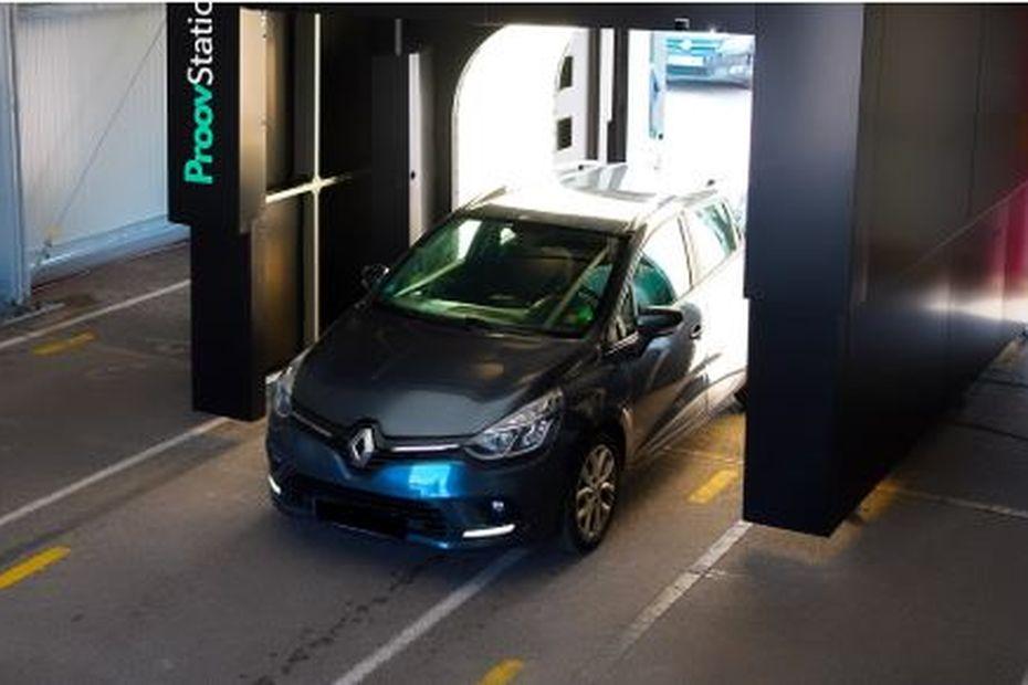 A Bourg-en-Bresse(Ain), le premier portique mondial qui détecte les dommages sur les véhicules grâce à l'IA