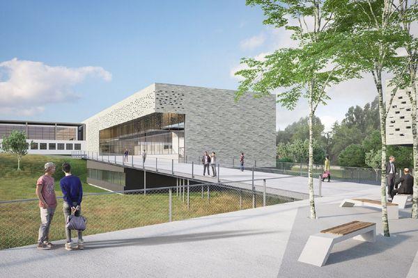 Vue du Campus Sud Ardenne