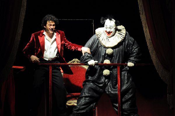 """L'opéra """"Rigoletto """" de Giuseppe Verdi présenté lors du festival d'art lyrique d'Aix-en-Provence."""
