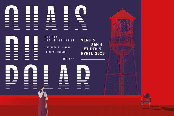 L'affiche de l'édition Quais du Polar 2020