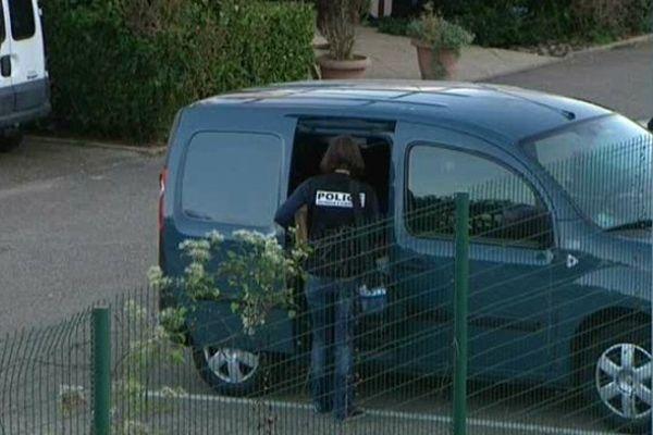 L'homme a été retrouvé sur le parking de Vet'Affaires à Dole.