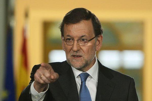Le chef du gouvernement espagnol Antonio Rajoy, s'est fermement opposé a l'organisation d'un réferendum sur l'indépendance de la Catalogne.