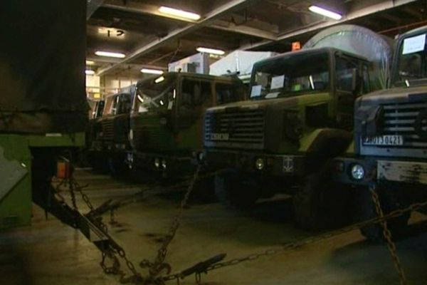 270 véhicules seront acheminés d'ici cinq à six jours au Mali