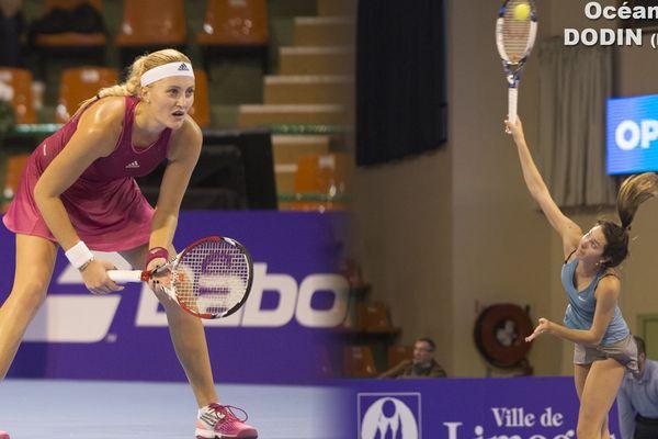 Kristina Mladenovic vs Océane Dodin