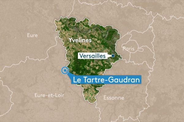 Le Tartre-Gaudran est la plus petite commune des Yvelines.
