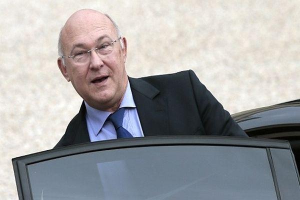 Michel Sapin, le ministre du Travail, de l'Emploi, de la Formation professionnelle et du dialogue social