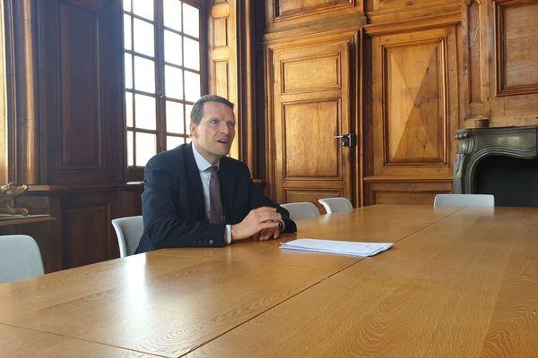 Le procureur de la république de Vesoul, Emmanuel Dupic