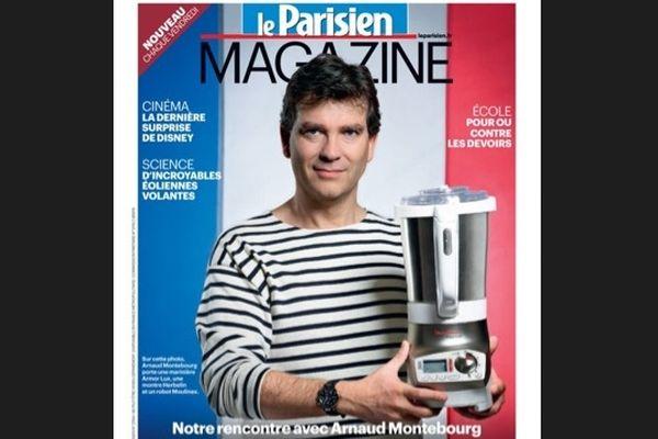 La Une du Parisien magazine