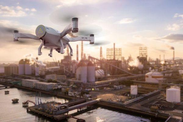 Le système Skeyetech, commercialisé par Azur Drones.