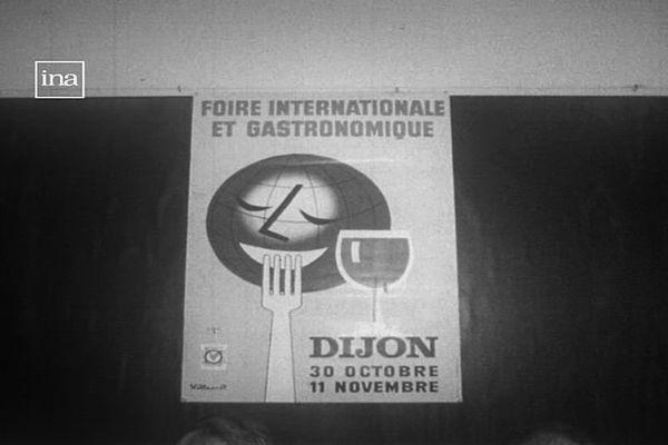 """C'est en 1975 que la Foire gastronomique de Dijon a pris pour la première fois l'appellation """"internationale""""."""