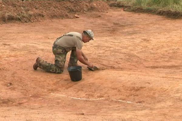 Ces fouilles s'inscrivent dans l'archéologie contemporaine née lors du 70ème anniversaire de la Libération.