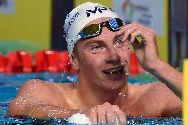 Les Mondiaux en petit bassin se sont achevés dimanche 16 décembre à Hangzou (Chine) sans nouvelle médaille David Aubry et Damien Joly mais David Aubry a signé le record de France du 1 500 m en 14'23''44. Photo d'archives.