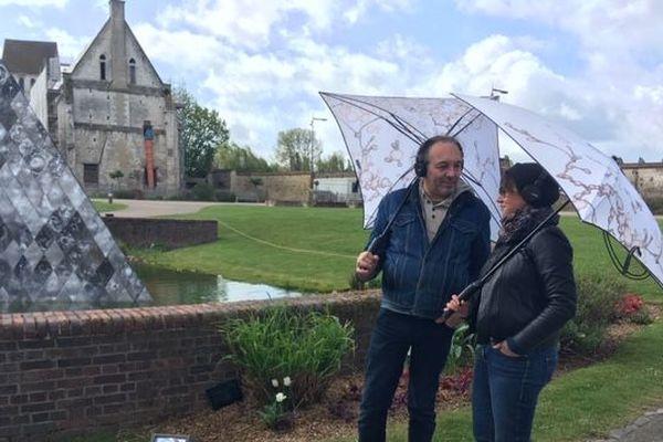 L'expérience SonoPluie proposée à partir du 1er mai 2019 à la Maladrerie Saint-Lazare à Beauvais