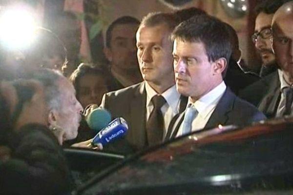 Manuel Valls en Isère - ARCHIVES
