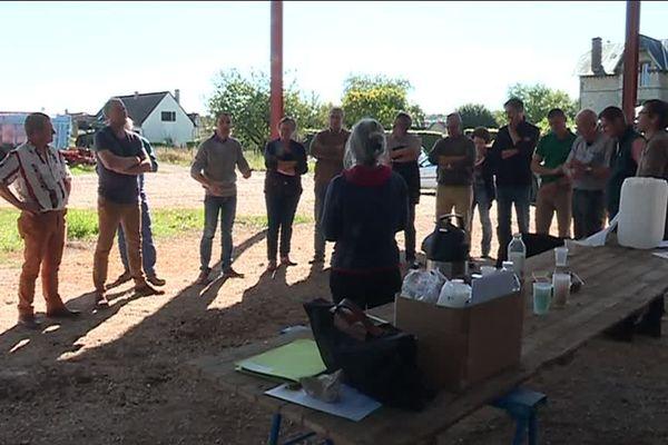 Les agriculteurs de l'Oise rencontrent des députés LREM