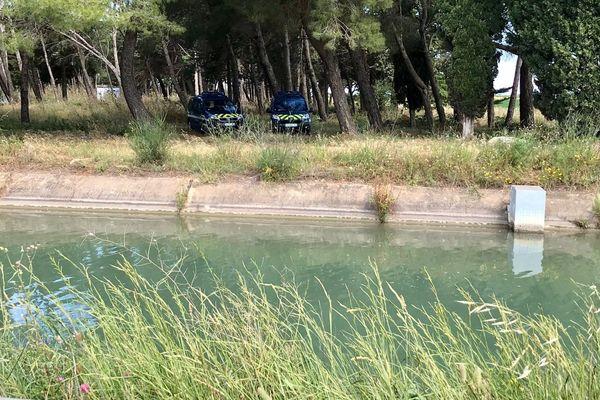 Le corps de la victime a été retrouvé dans ce canal situé sur la commune de Bellegarde.