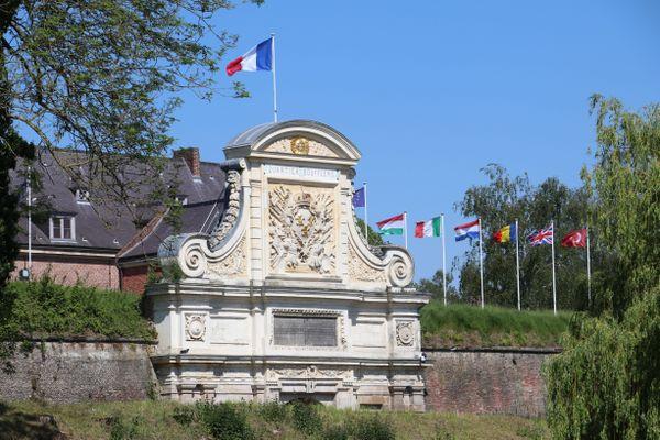 Près de 450 militaires sont présents au CRR FR, situé dans la Citadelle de Lille.