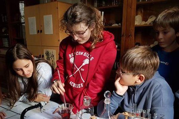 """Exemple atelier : """"Cours de Potion"""" avec un professeur de SVT madame Debraye"""