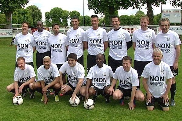 """Le Variétés Club de France dit """"non à l'homophobie"""" - Tinqueux (05/05/2013)"""