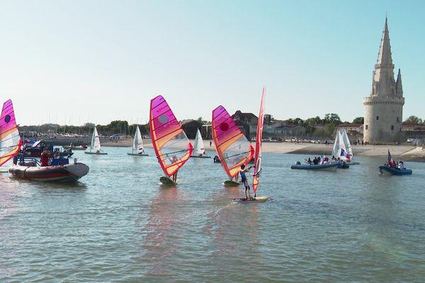 Une parade nautique en hommage aux athlètes ce samedi à La Rochelle